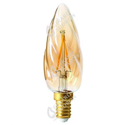 Flammen F6 Leuchtfaden LED 2W E14 2700K 200Lm Berns..