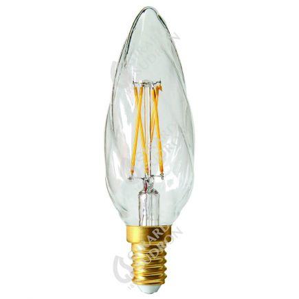 Flammen F6 Leuchtfaden LED 4W E14 320Lm 2700K Dim. Kl.