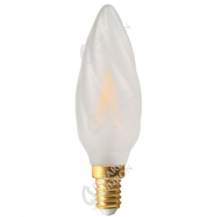 Candle F6 Filament LED 5W E12 2700K 500Lm Dim. Mat