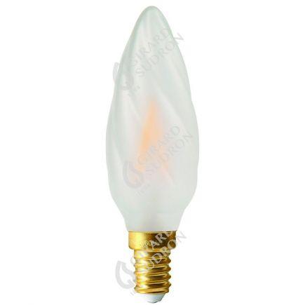Flammen F6 Leuchtfaden LED 2W E14 2700K 210Lm Mat