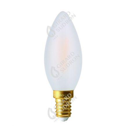 *Flamme C35 Filament LED 2W E14 2700K 210Lm Mat.