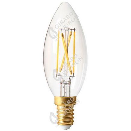 Flammen C35 Leuchtfaden LED 5W E14 2700K 610Lm Kl.