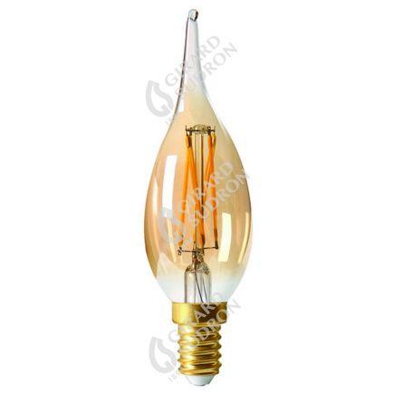 Flammen GS4 Leuchtfaden LED 4W E14 2500K 280Lm Dim. Berns..