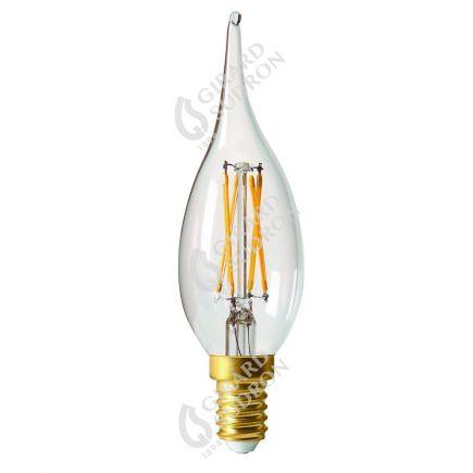 Flamme GS4 Filament LED 5W E14 2700K 610Lm Cl.