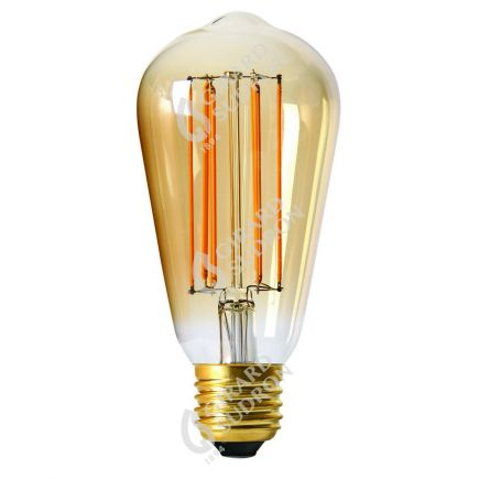 Edison Leuchtfaden LED 4W E27 2100K 260Lm Dim. Berns.