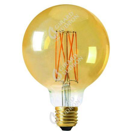 Globe G125 Leuchtfaden LED 4W E27 2100K 260Lm Dim. Berns..