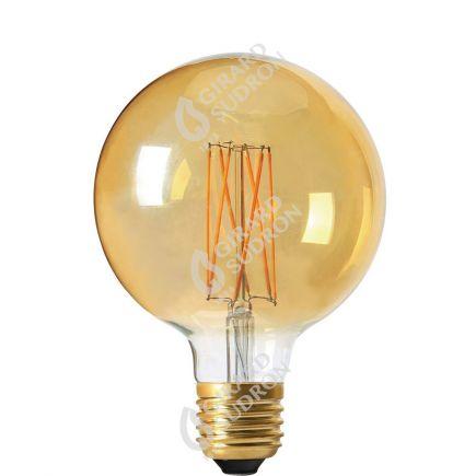 Globe G95 Leuchtfaden LED 4W E27 2100K 260Lm Dim. Berns..