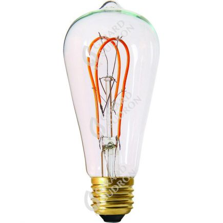Edison Filament LED LOOPS 5W E27 2200K 300Lm Cl.