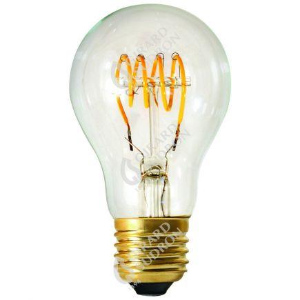 Standard A60 Filament LED Torsadée 3W E26 120lm Dim. Cl.