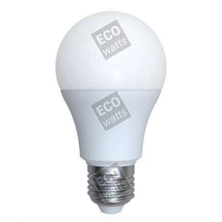 Ecowatts - Standard A60 (2 stücke) LED 270° 9W E27 2700K 806Lm Milchig