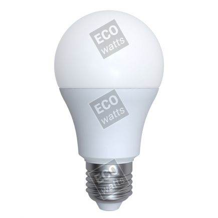 Ecowatts - Standard A60 LED 270° 6W E27 2700K 540Lm Milchig