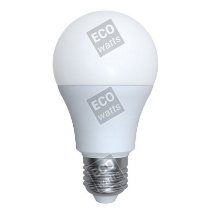 Ecowatts - Standard A60 LED 270° 9W E27 2700K 806Lm Milchig