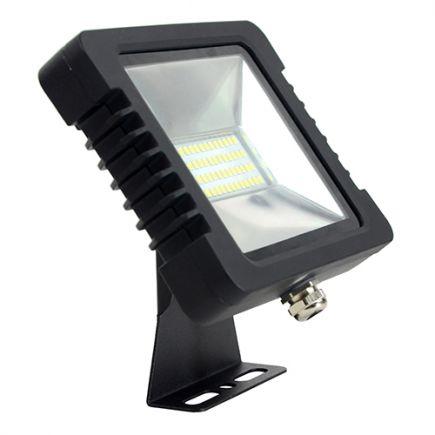Yonna - LED Projektor-Leuchte IP 65 200x148.5x34.5 30W 3000K 2160lm 110° schwarz