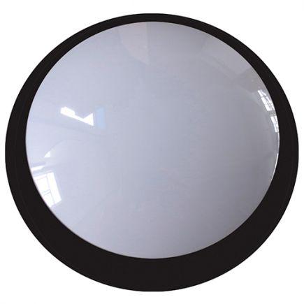 Lenie - EcoWatts - LED Deckenleuchten IP 66 Ø355x118 20W 4000K 1800lm 160° schwarz