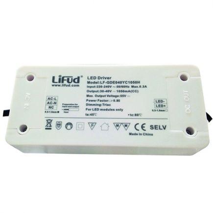 Treiber mit dimmer für LED Downlight 140x65x30 50W Triac Dim weiß Dim