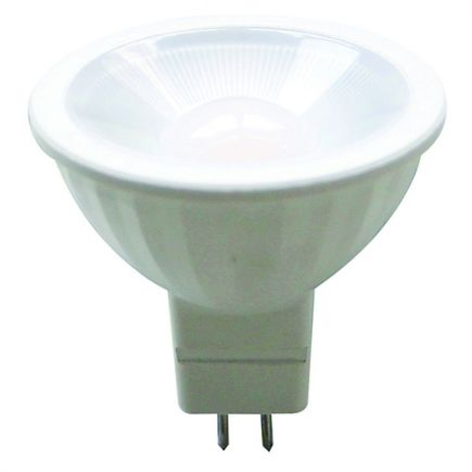 Spot LED 5W GU5.3 2700K 400Lm 100° Milchig
