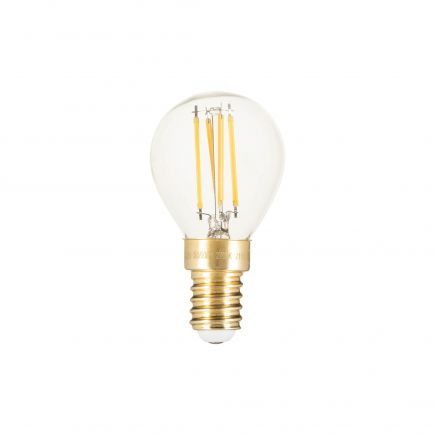 Kugelformen G45 Leuchtfaden LED 4W E14 2700K 320Lm Dim. Kl.