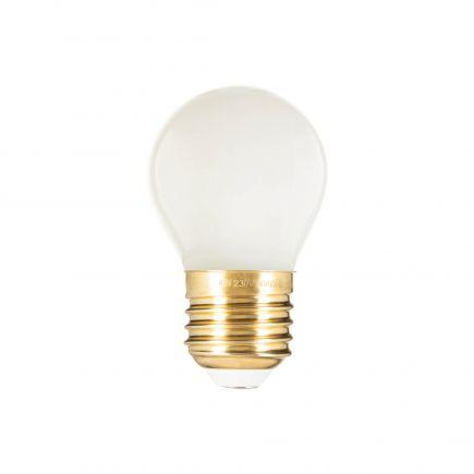 Kugelformen G45 Leuchtfaden LED 4W E27 2700K 400Lm Milchig