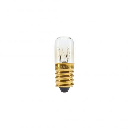 Glüh-Röhrensignallampen 15W E14 2750K 110 Dim. Kl.