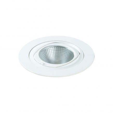 Simba - LED-einbau-Downlight einstellbar Ø168x122 ein.Ø150 35W 4000K 3000lm 36° weiß