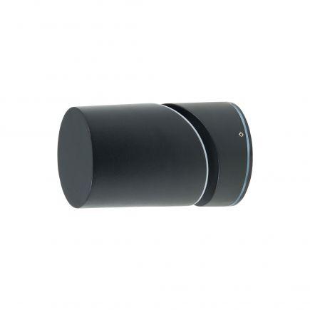 Elypte - Eclairage résidentiel 12,5W 3000K 600lm 108x108x173mm CLI IP54 Dark Black