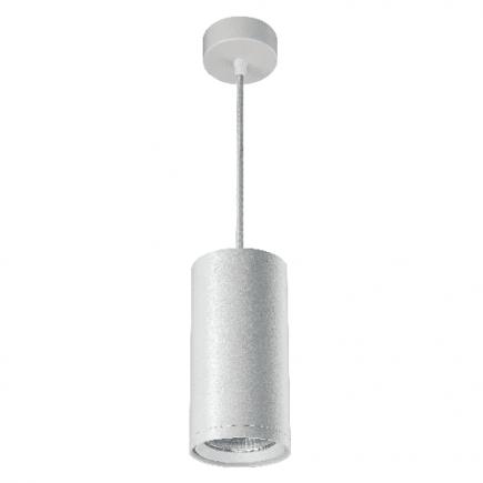 Atlas - LED-Downlight hängend Ø110x2500 30W 3000K 2550lm 24° weiß