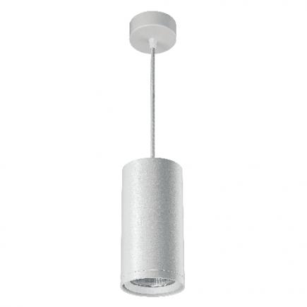 Atlas - LED-Downlight hängend Ø85x2500 12W 3000K 1020lm 20° weiß