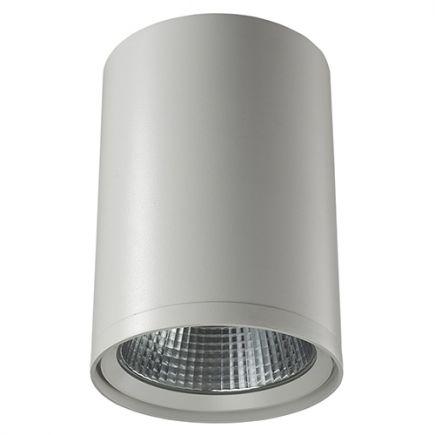 Pandore - LED-Aufbaudownlight Ø130x190 30W 4000K 2650lm 24° weiß