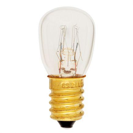Oven Lamp Incan. (<300°C) 15W E14 2750K 110 Dim.