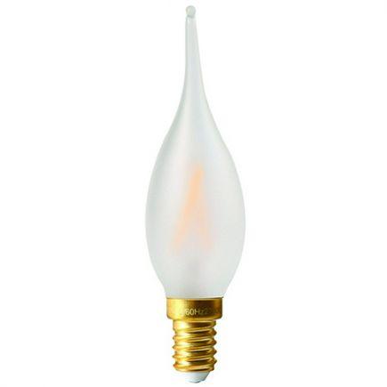 Flammen GS4 Leuchtfaden LED 4W E14 2700K 300Lm Dim. Mat
