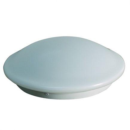 Dome - LED Deckenleuchten Ø350x115 18W 4000K 1500lm 120°mit Mikrowellensensor weiß