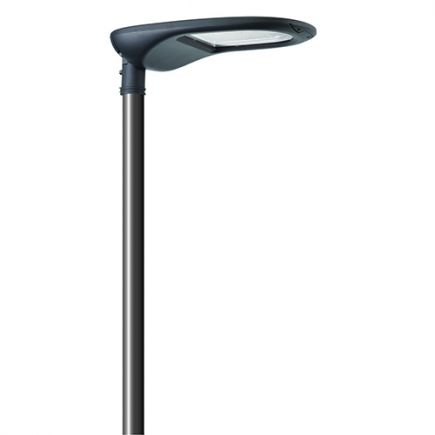Aurora -LED Straßenbeleuchtung IP66 762x370x128 140W 3000K 14500lm 45-135° dunkelgrau