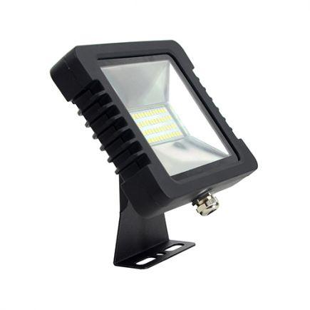 Yonna - LED Projektor-Leuchte IP 65 250x188x51 50W 3000K 3600lm 110° schwarz