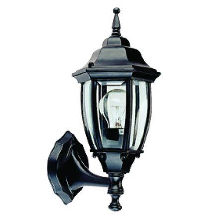 Adara - Außen-Wandlampe 188x155x420 E27 60W max. schwarz