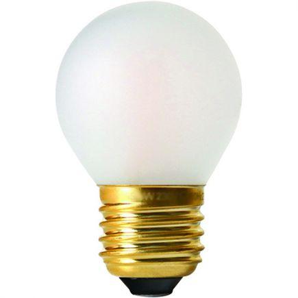 Kugelformen G45 Leuchtfaden LED 5W E27 2700K 580Lm Mat.