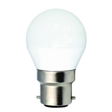 Miniglobe G45 LED 330° 5W B22 4000K 410Lm Undurchsichtig